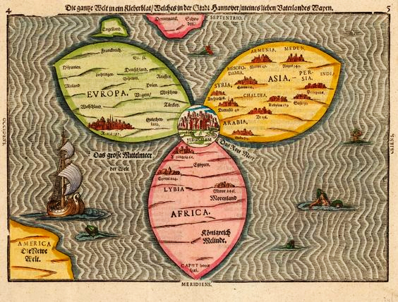 All eyes on jerusalem jewish jewels medieval map of jerusalem center of the world gumiabroncs Choice Image