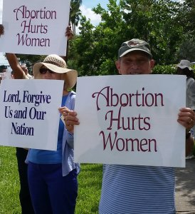 abortion protest color